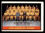 1974 O-Pee-Chee NHL #287   Kings Team Front Thumbnail