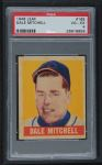 1948 Leaf #165  Dale Mitchell  Front Thumbnail