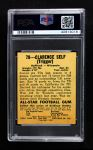 1948 Leaf #78  Clarence Self  Back Thumbnail