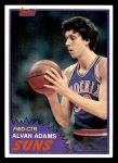 1981 Topps #79 W Alvan Adams  Front Thumbnail