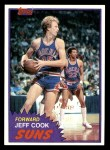 1981 Topps #80 W Jeff Cook  Front Thumbnail