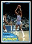 1981 Topps #92 W Joe Bryant  Front Thumbnail