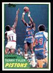 1981 Topps #84 MW Terry Tyler  Front Thumbnail