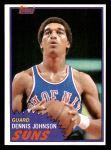 1981 Topps #34  Dennis Johnson  Front Thumbnail