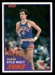 1981 Topps #82 W Kyle Macy  Front Thumbnail