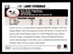 2004 Topps #360  Larry Fitzgerald  Back Thumbnail