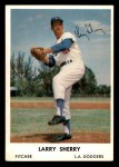 1962 Bell Brand Dodgers #51  Larry Sherry  Front Thumbnail