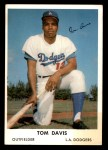 1962 Bell Brand Dodgers #12  Tommy Davis  Front Thumbnail