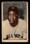 1952 Berk Ross  Willie Mays  Front Thumbnail