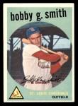1959 Topps #162  Bobby Gene Smith  Front Thumbnail