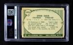 1961 Nu-Card #143  Ernie Davis  Back Thumbnail