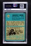 1964 Philadelphia #114  Roosevelt Brown   Back Thumbnail