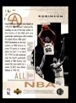 1994 Upper Deck #18   -  David Robinson All-NBA Team Back Thumbnail