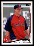 2014 Topps Update #183  Kelly Johnson   Front Thumbnail