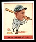 1938 Goudey Heads-Up Reprint #253  Hank Greenberg  Front Thumbnail