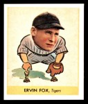 1938 Goudey Heads-Up Reprint #242  Pete Fox  Front Thumbnail