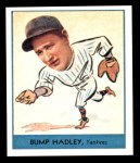 1938 Goudey Heads-Up Reprint #251  Bump Hadley  Front Thumbnail