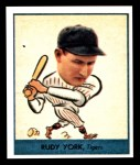 1938 Goudey Heads-Up Reprint #260  Rudy York  Front Thumbnail