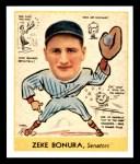 1938 Goudey Heads-Up Reprint #276  Zeke Bonura  Front Thumbnail