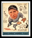 1938 Goudey Heads-Up Reprint #278  Van Mungo   Front Thumbnail
