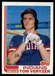 1982 Topps #387  Tom Veryzer  Front Thumbnail