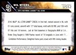 2016 Topps Update #52  Wil Myers  Back Thumbnail