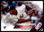 2016 Topps Update #134  Luis Severino  Front Thumbnail