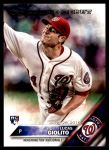 2016 Topps Update #213  Lucas Giolito  Front Thumbnail