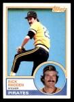 1983 Topps #781  Rick Rhoden  Front Thumbnail