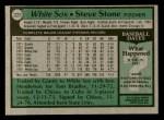 1979 Topps #227  Steve Stone  Back Thumbnail