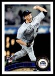 2011 Topps Update #24  Rex Brothers  Front Thumbnail