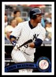 2011 Topps Update #79  Chris Dickerson  Front Thumbnail