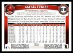 2011 Topps Update #86  Rafael Furcal  Back Thumbnail
