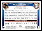 2011 Topps Update #165  Al Albuquerque  Back Thumbnail