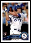2011 Topps Update #192  Mike Moustakas  Front Thumbnail