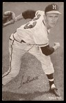1963 Exhibits Stat Back  Lew Burdette  Front Thumbnail