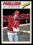 1977 O-Pee-Chee #226  Jay Johnstone  Front Thumbnail