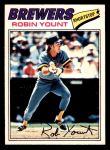 1977 O-Pee-Chee #204  Robin Yount  Front Thumbnail