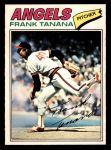 1977 O-Pee-Chee #105  Frank Tanana  Front Thumbnail