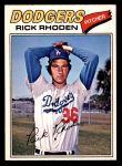 1977 O-Pee-Chee #57  Rick Rhoden  Front Thumbnail