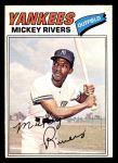 1977 O-Pee-Chee #69  Mickey Rivers  Front Thumbnail