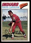 1977 O-Pee-Chee #61  Dave LaRoche  Front Thumbnail