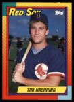 1990 Topps Traded #79 T Tim Naehring  Front Thumbnail