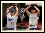1995 Topps Traded #164 T  -  Hideo Nomo / Randy Johnson All-Star Front Thumbnail