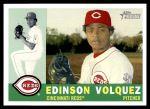 2009 Topps Heritage #4  Edinson Volquez  Front Thumbnail