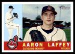 2009 Topps Heritage #51  Aaron Laffey  Front Thumbnail
