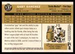 2009 Topps Heritage #127  Gaby Sanchez  Back Thumbnail