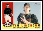 2009 Topps Heritage #165  Tim Lincecum  Front Thumbnail