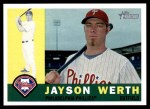 2009 Topps Heritage #415  Jayson Werth  Front Thumbnail