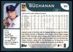 2001 Topps #93  Brian Buchanan  Back Thumbnail